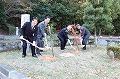 奥州市姉妹都市5周年記念植樹