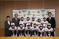 掛川桔梗女子ソフト春季全国大会出場表敬