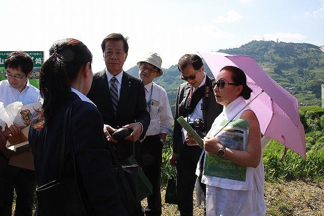 嘉義県知事茶草場農法視察