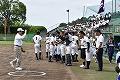 高校野球掛川球場開会式2k